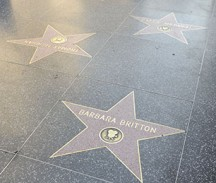 The Hollywood Walk of Fame, Hollywood, California